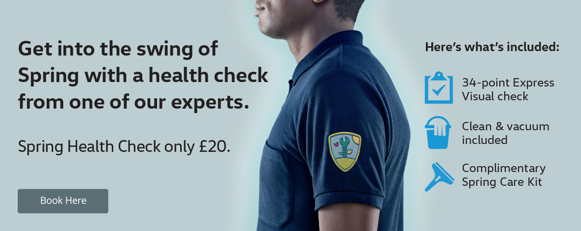 Seasonal health check at Windrush Volkswagen. Servicing special offers.