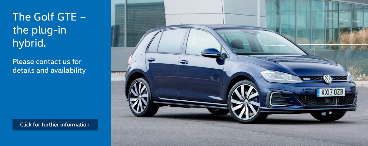 New Volkswagen Golf GTE finance special offers