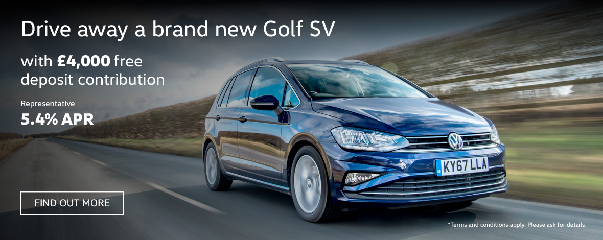 New Golf SV finance offers