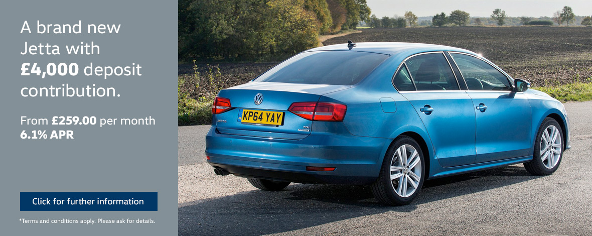 New Volkswagen Jetta finance special offers