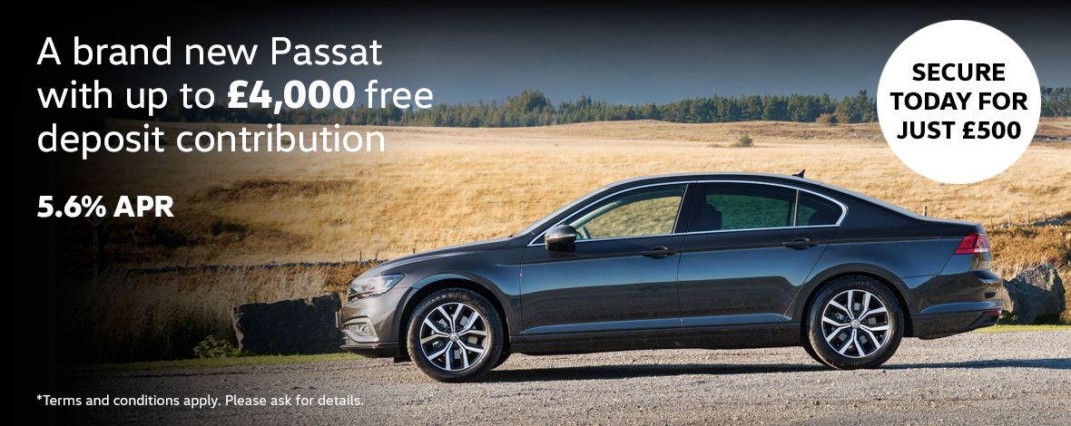 New Volkswagen Passat finance special offers