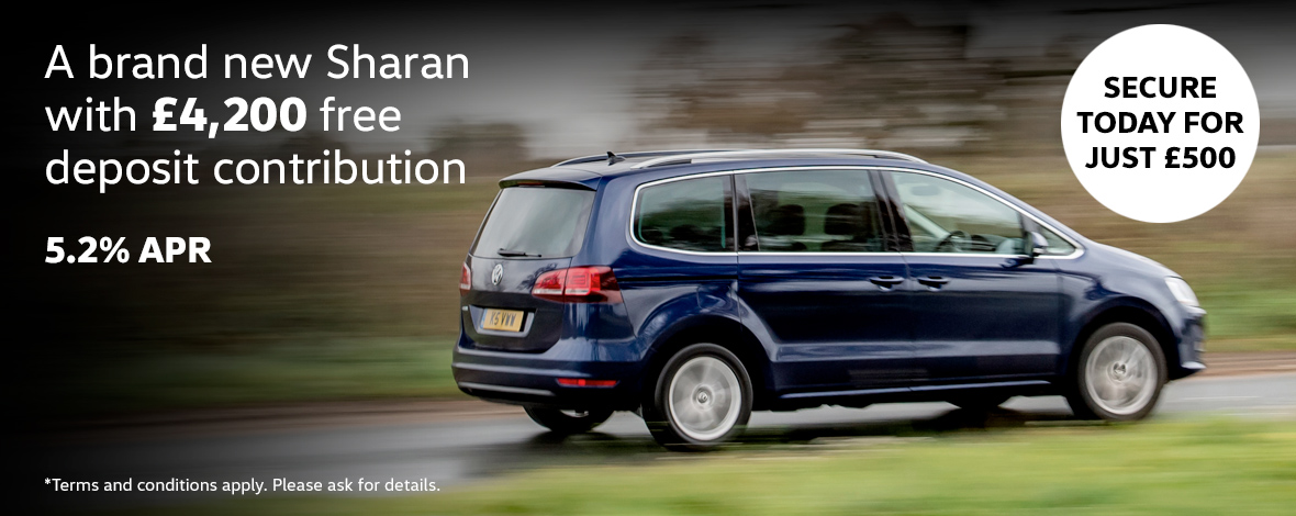 New Volkswagen Sharan finance special offers