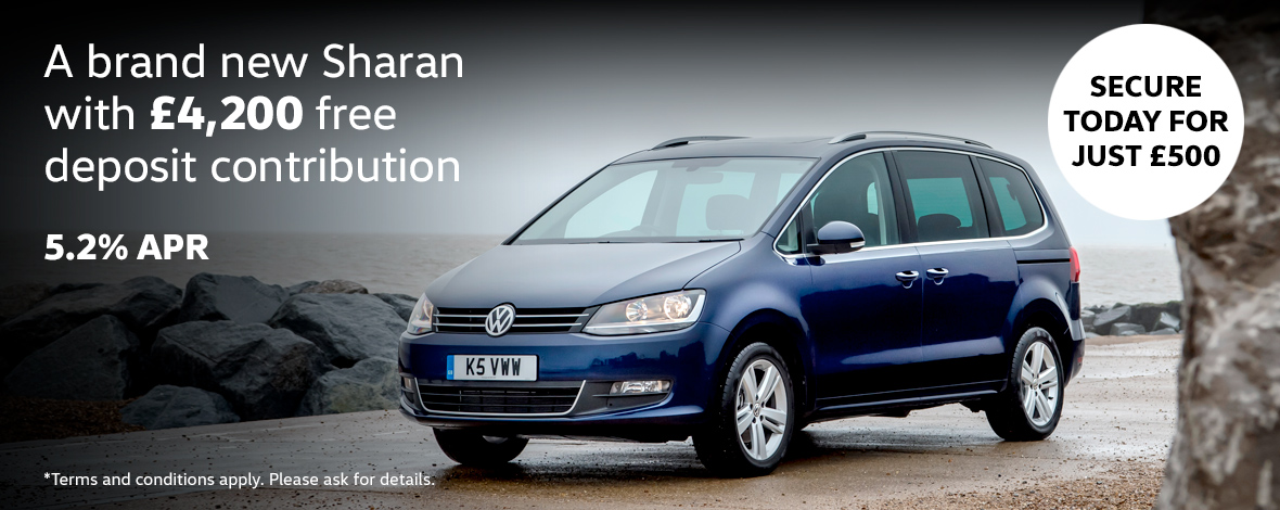 New Volkswagen Sharan finance offers