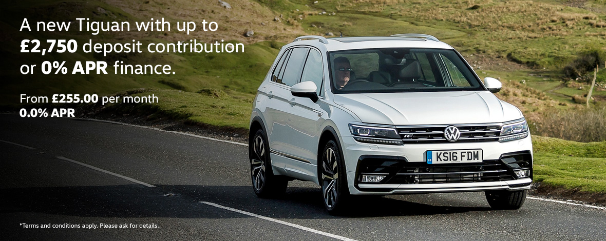 New Volkswagen Tiguan finance special offers