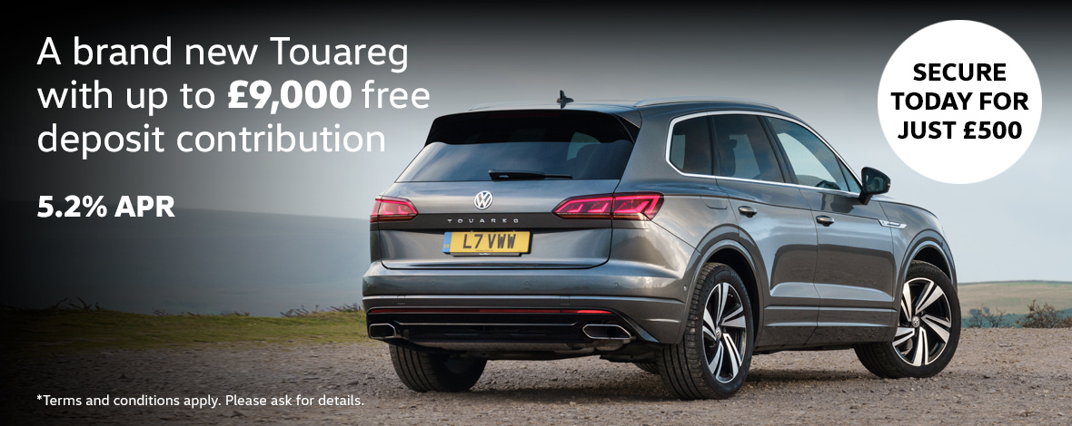 New Volkswagen Touareg finance special offers