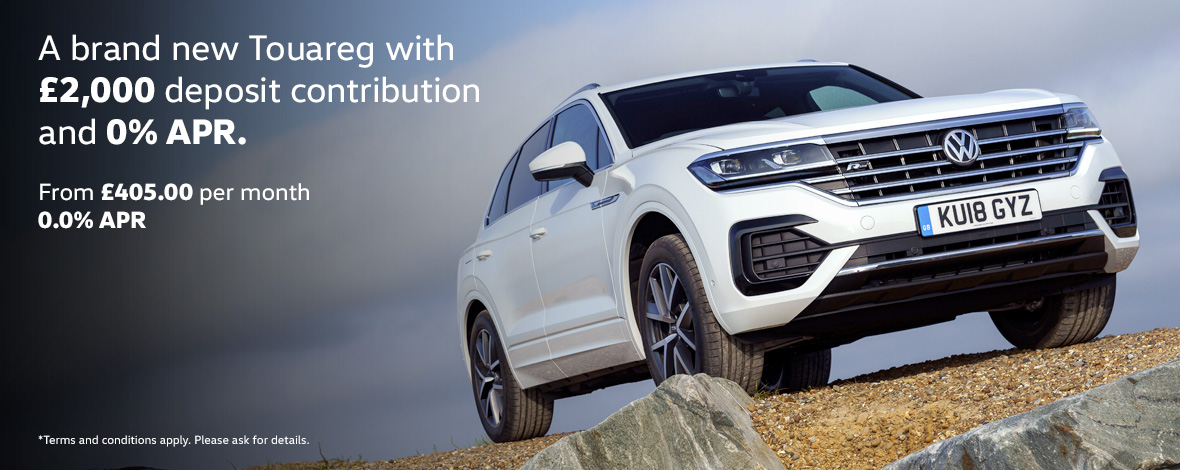 All-new Volkswagen Touareg