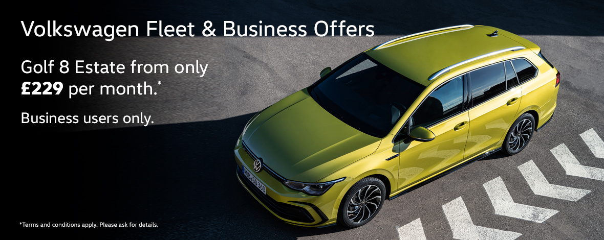 Volkswagen Golf Estate fleet and business special offers