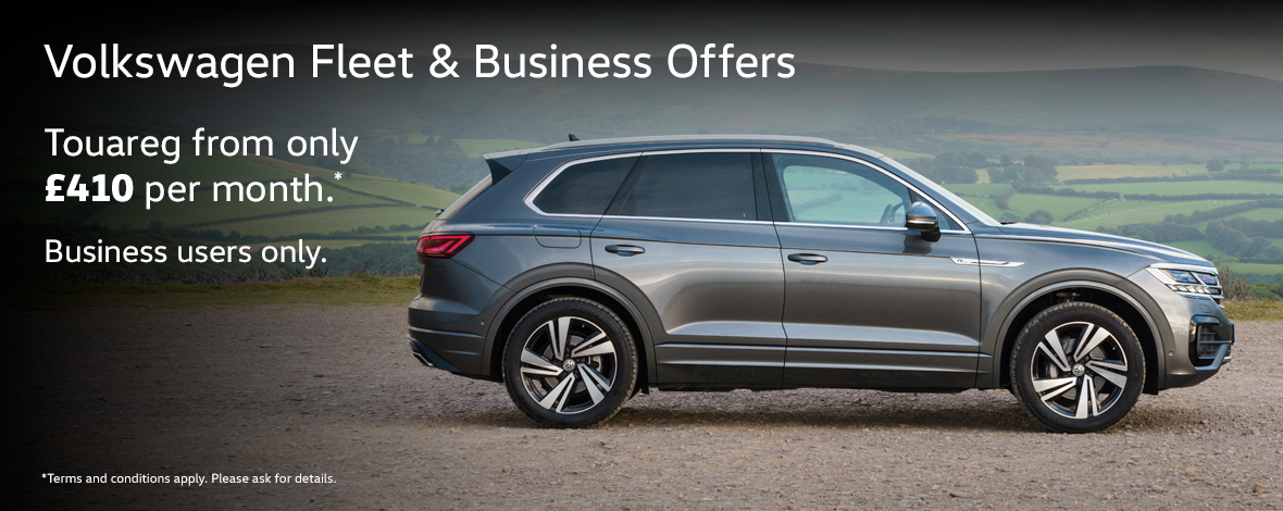 Volkswagen Touareg fleet and business special offers