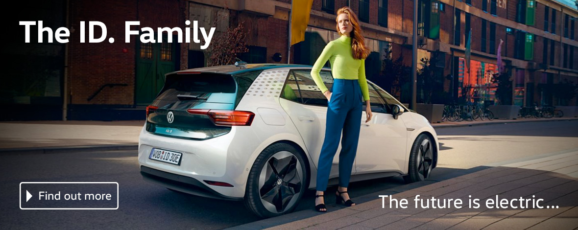 The ID. Family - electric cars coming to Windrush Volkswagen
