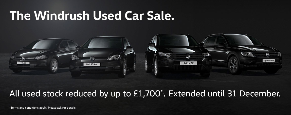 Windrush Black Friday Used Car Event